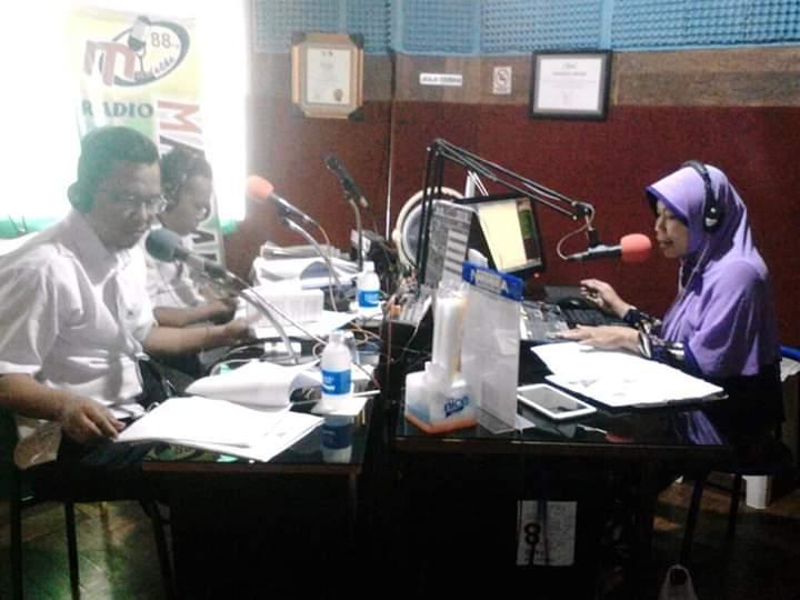 Mandalika FM Resmi Melaunching Website Resminya